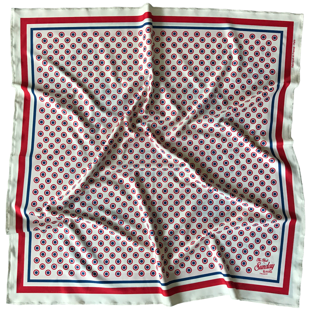foulard nourmandy beach race